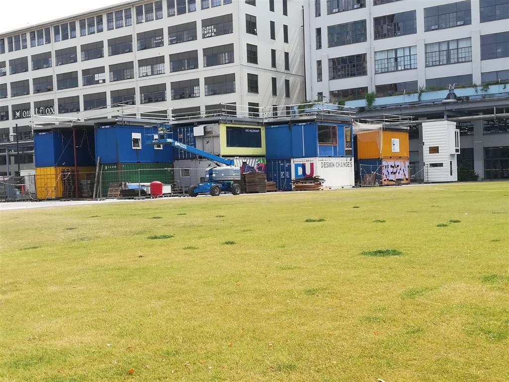 'Circulair dorp' van containers op Strijp-S krijgt groen dakterras