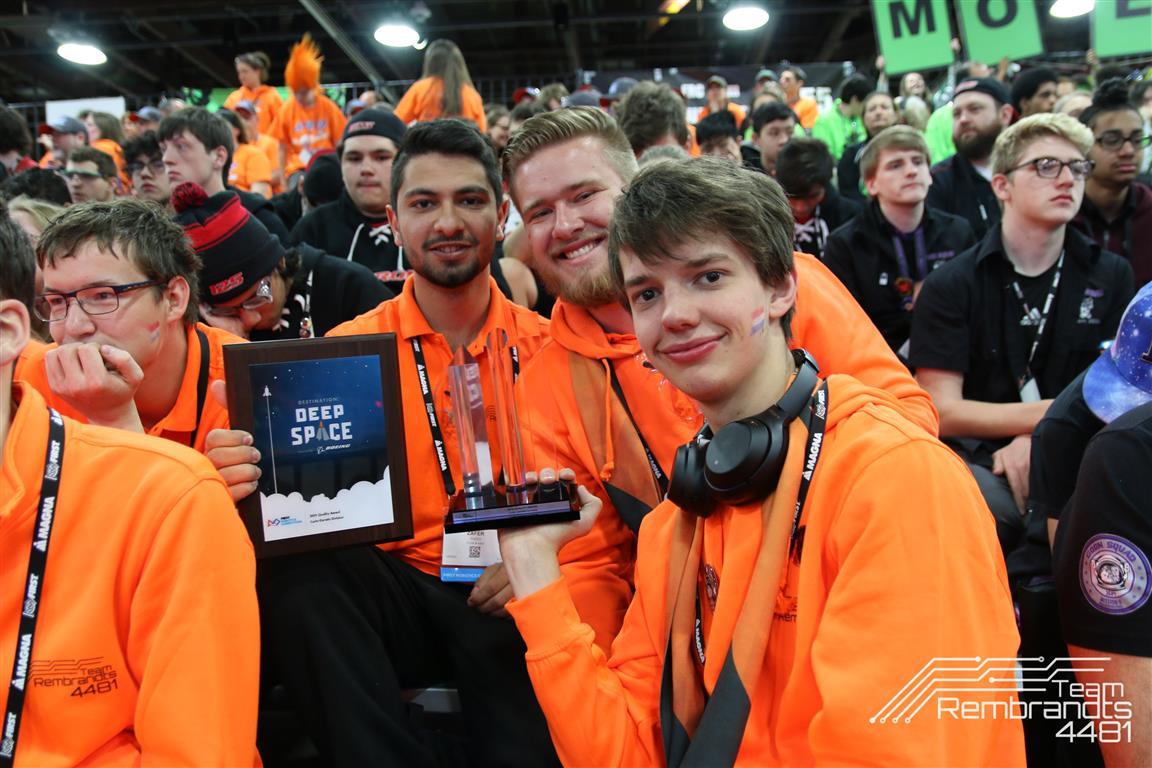 Eindhovens team wint wereldkampioenschap robot bouwen | Studio040